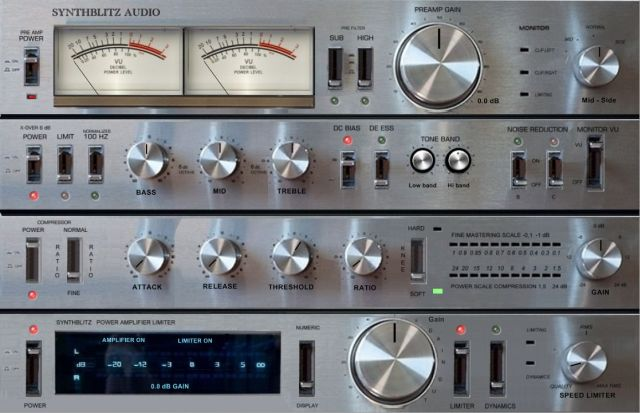 VA RAXS – Mastering Rack Emulator version démo